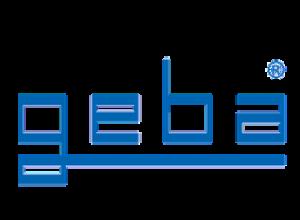 das Logo der Firma geba aus Eitorf